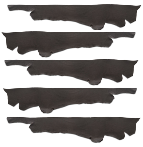 Set of 5 Black Holster Strap Bellies