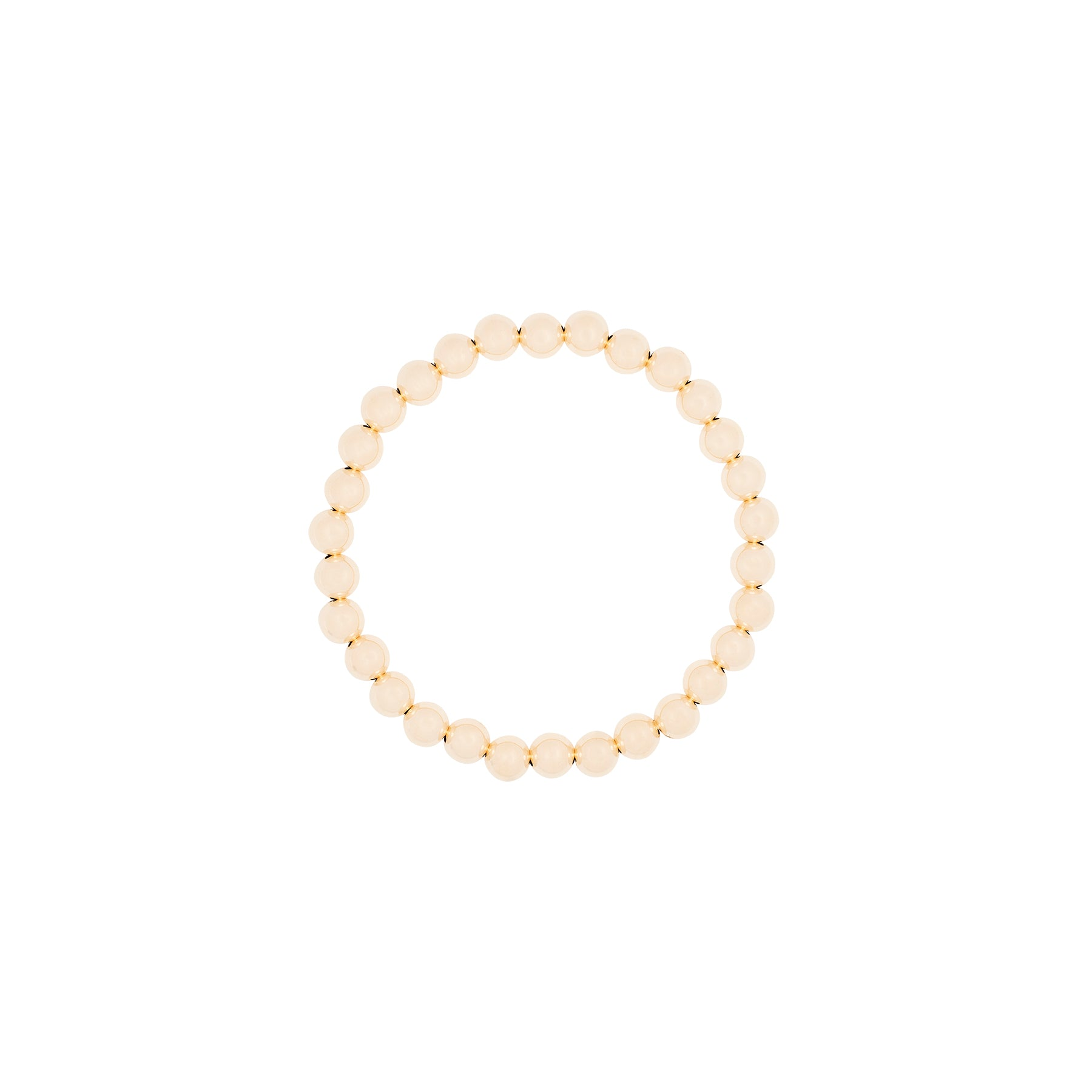 6MM Ball Stretch 14K Bracelet