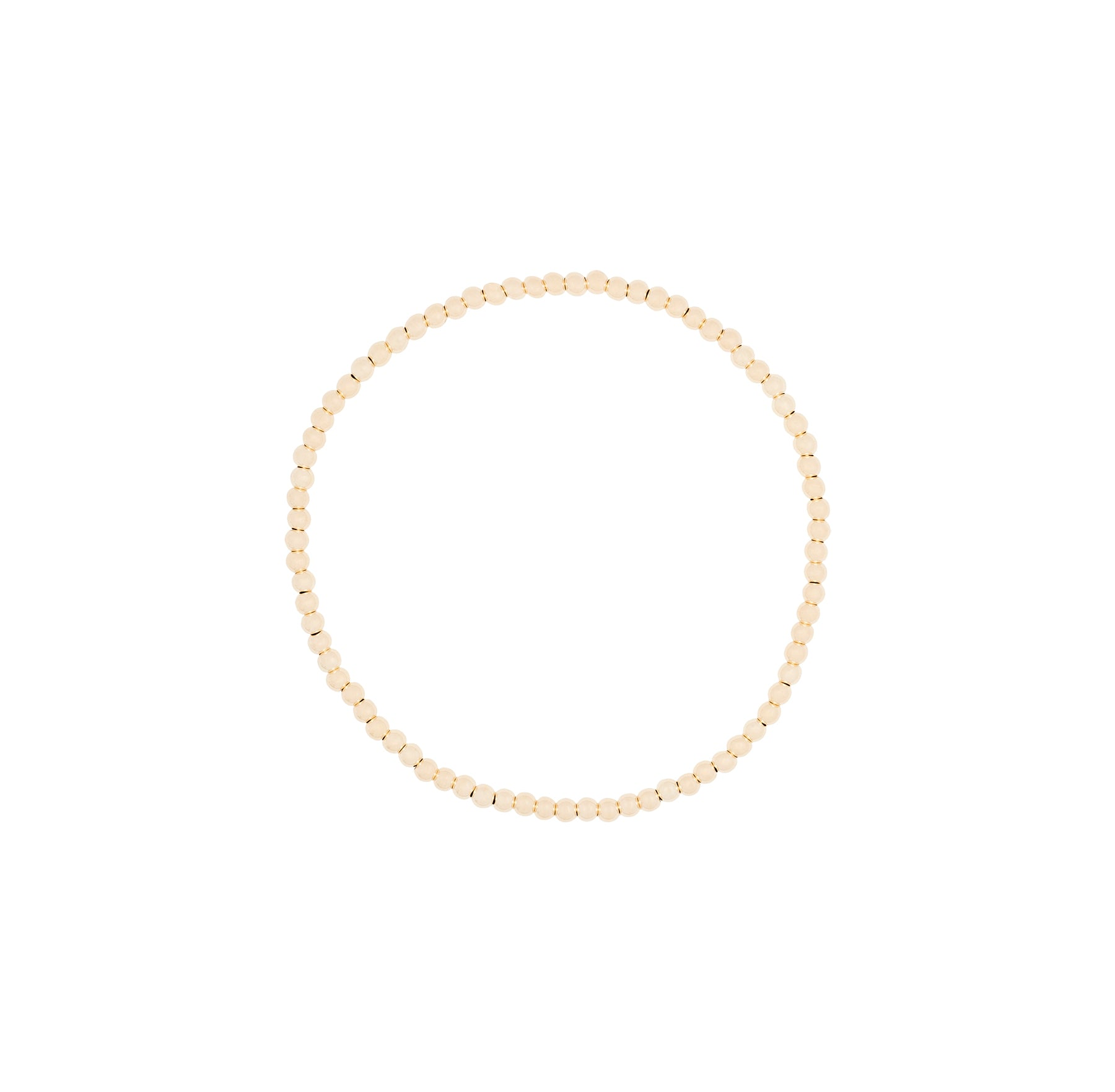 2MM Ball Stretch 14K Bracelet