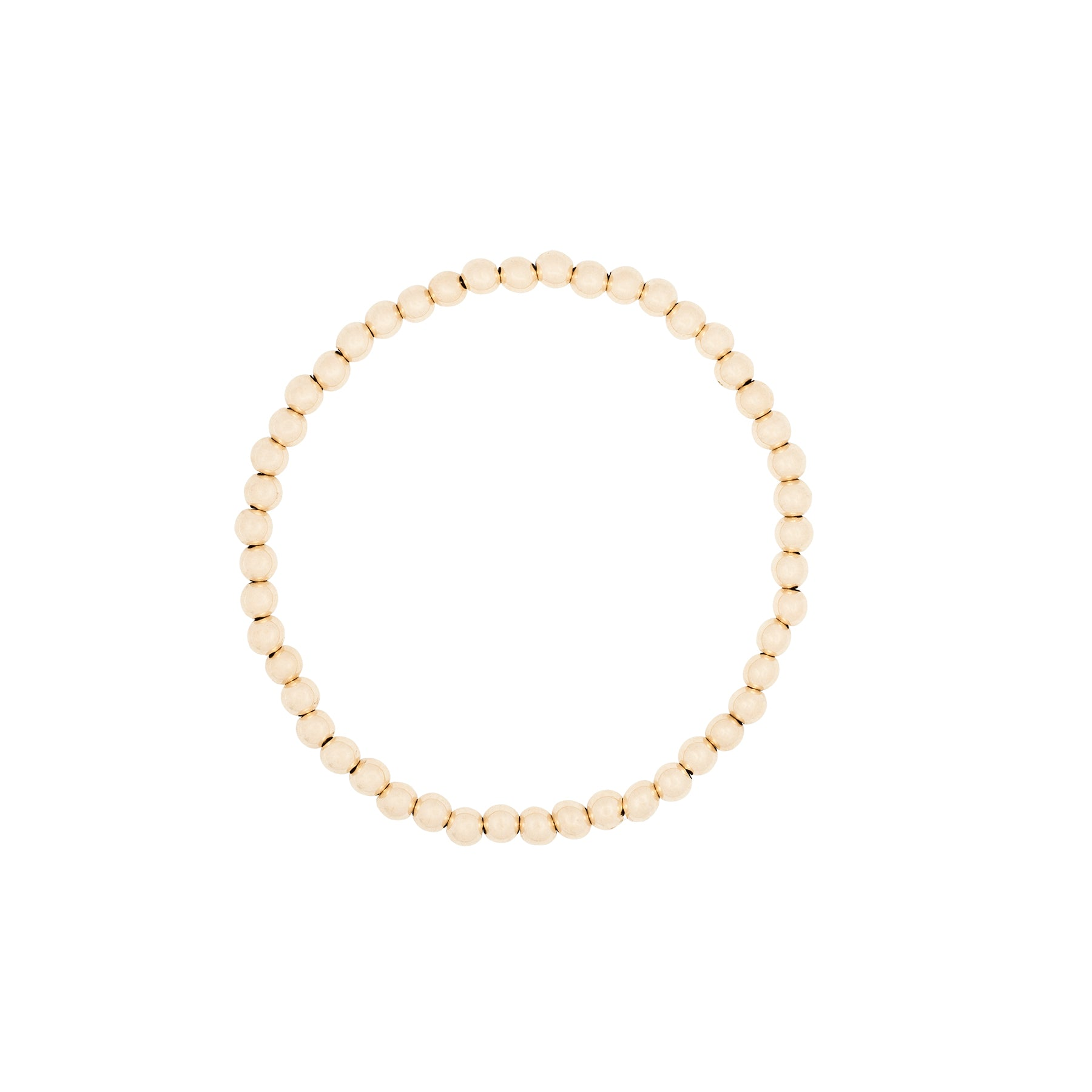 5MM Ball Stretch 14K Bracelet