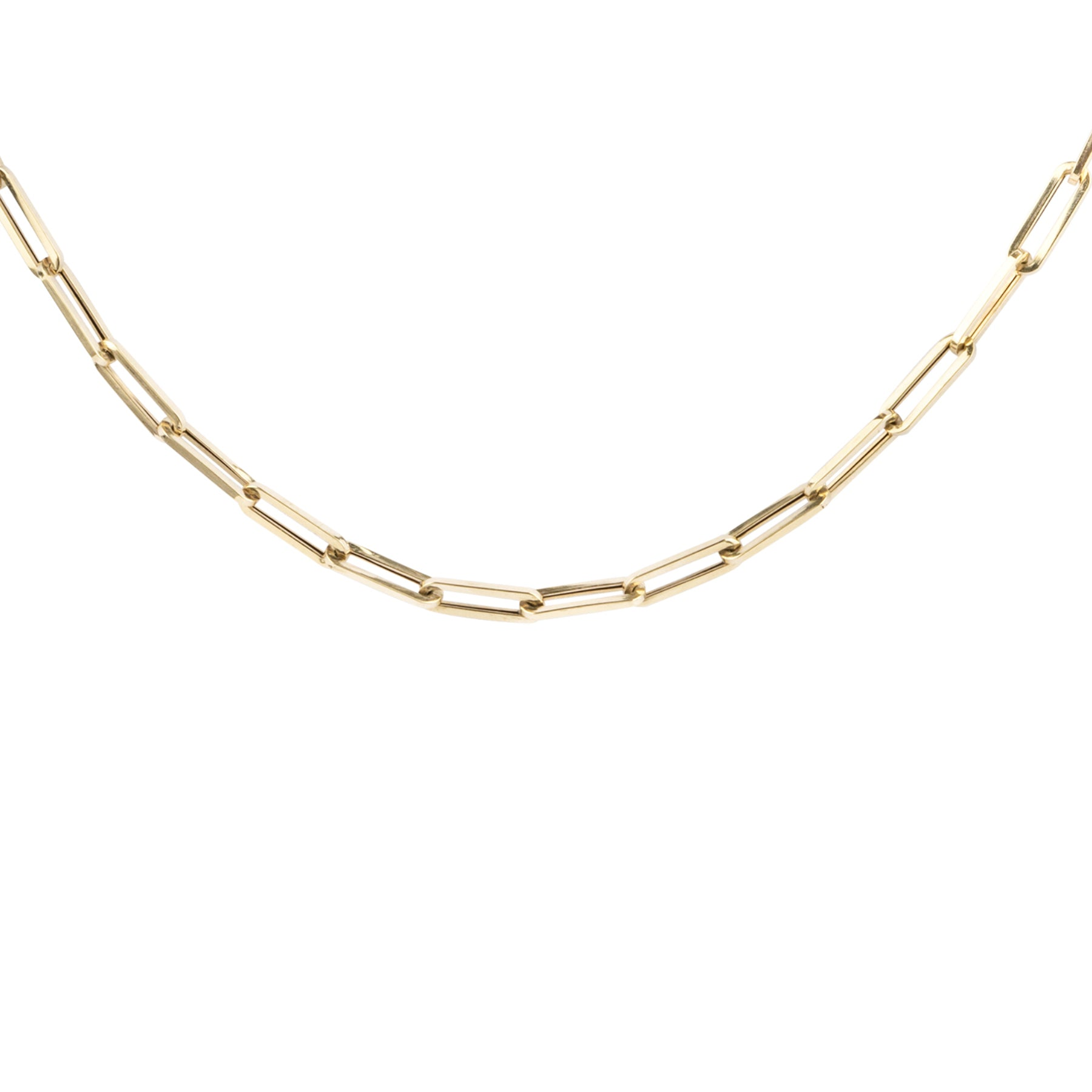 Medium Oval Chain Link Necklace