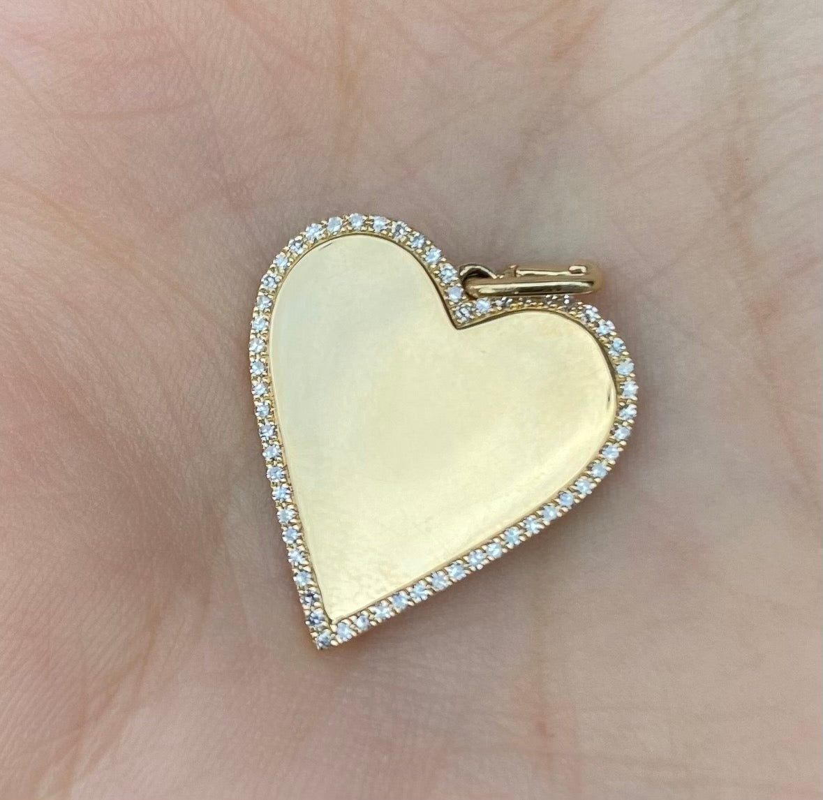 Heart Diamond Enhancer charm