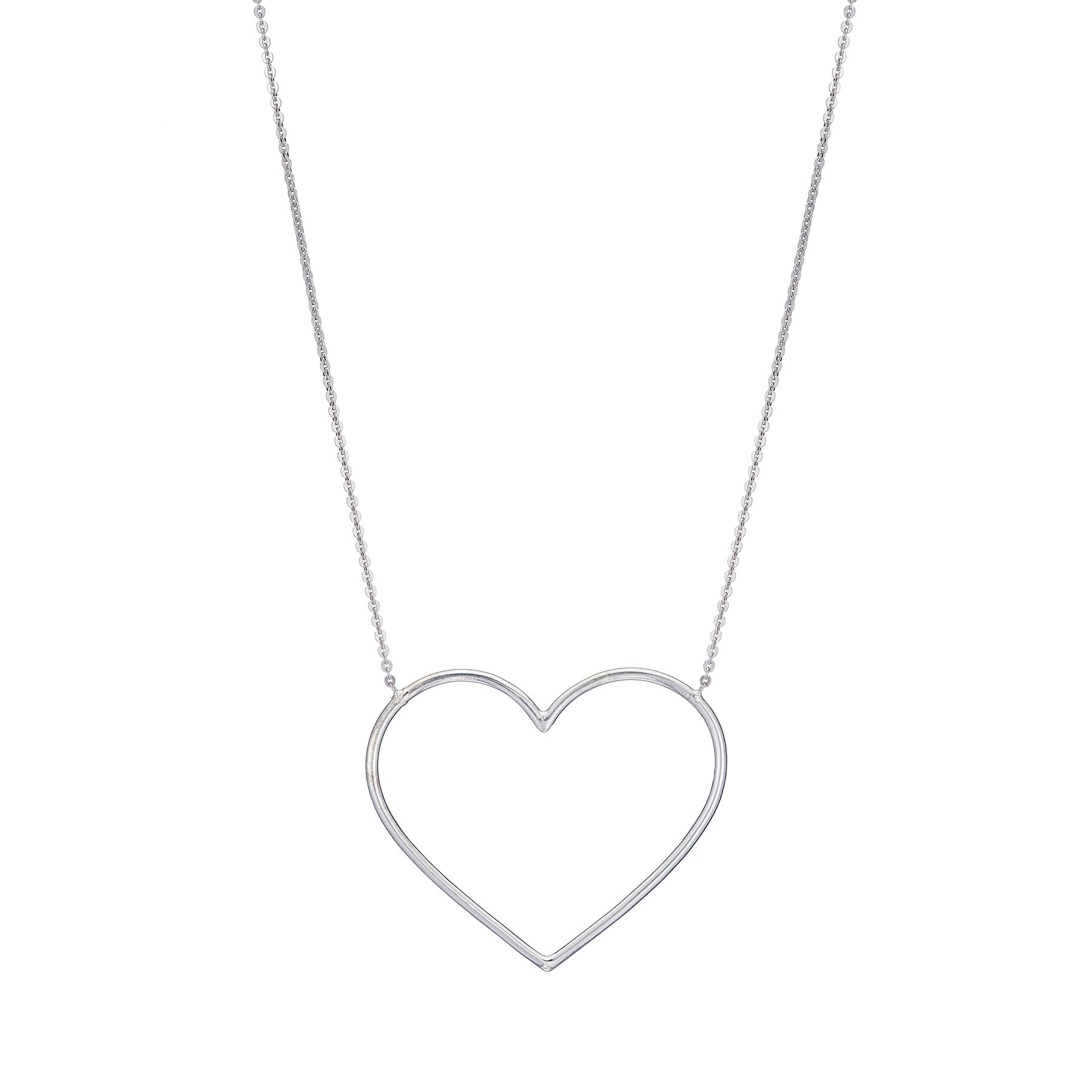 Grande Open Heart Necklace