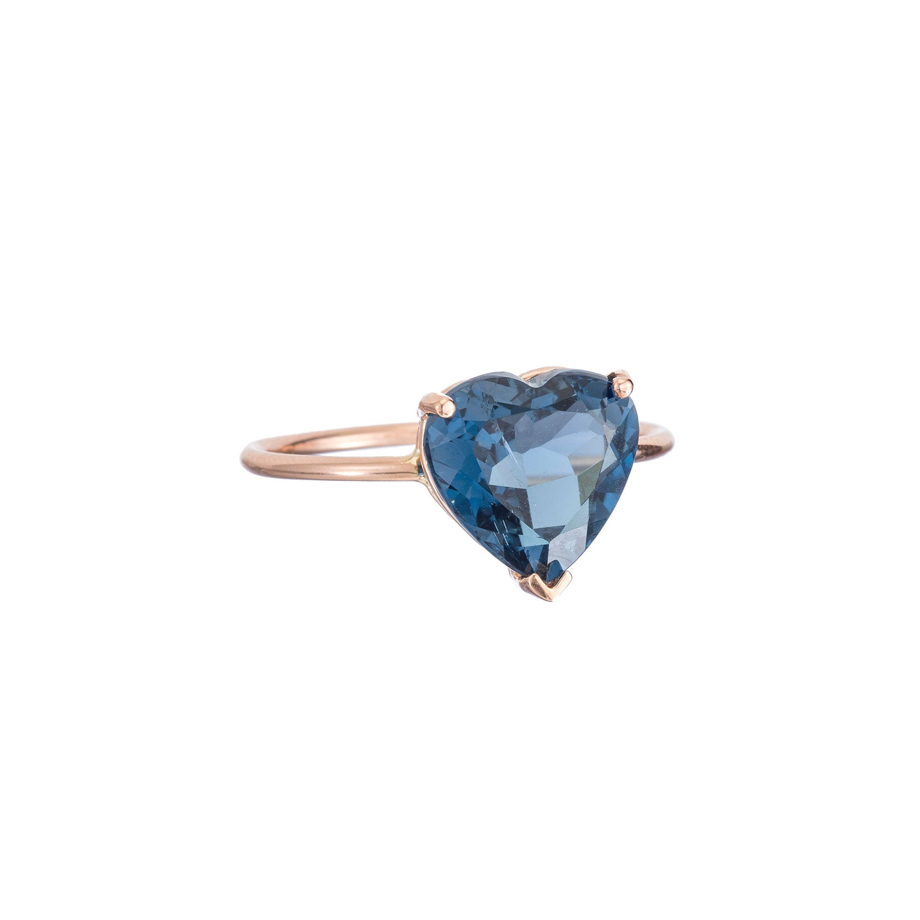 Gem Candy London Blue Topaz Heart Ring