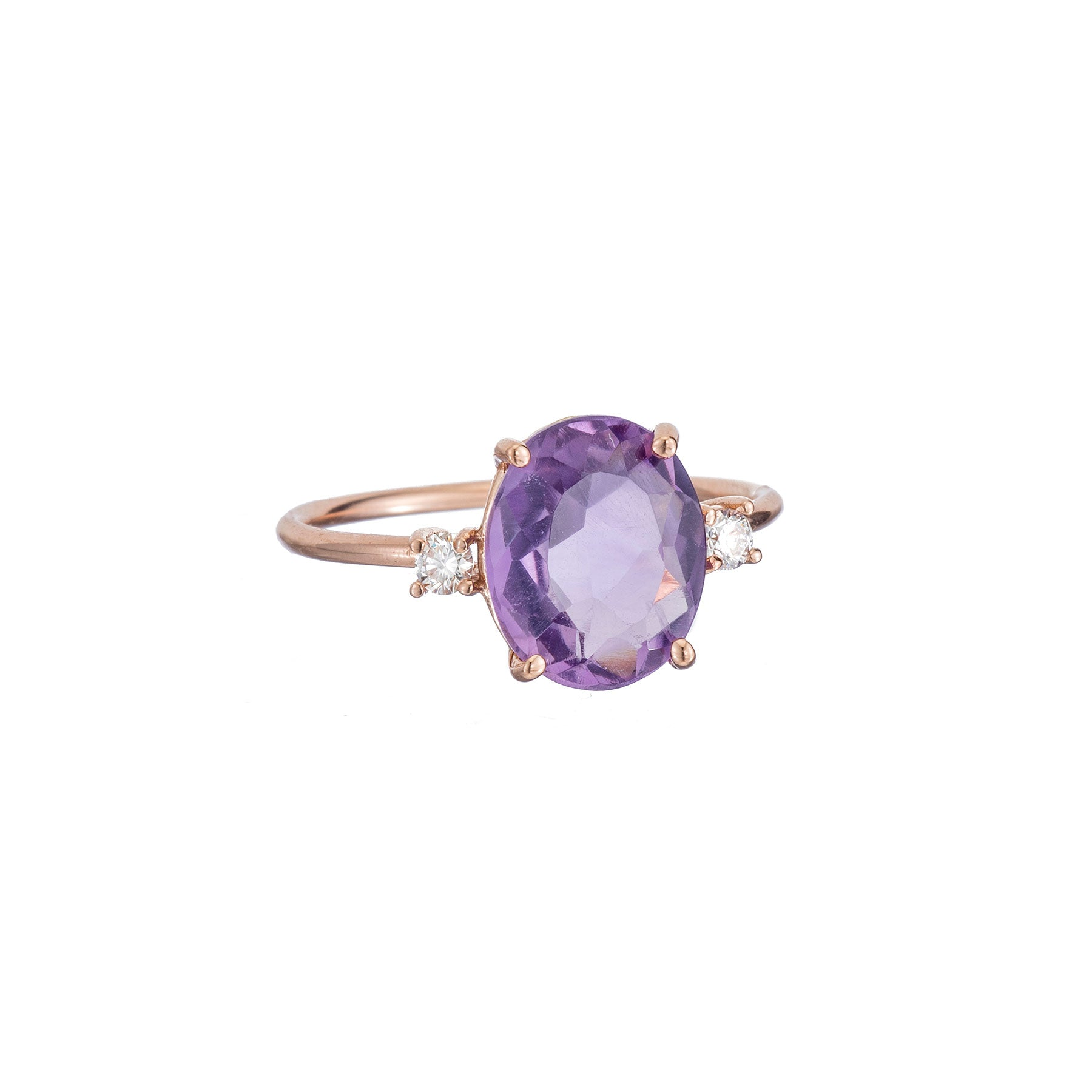 Gem Candy Amethyst Oval