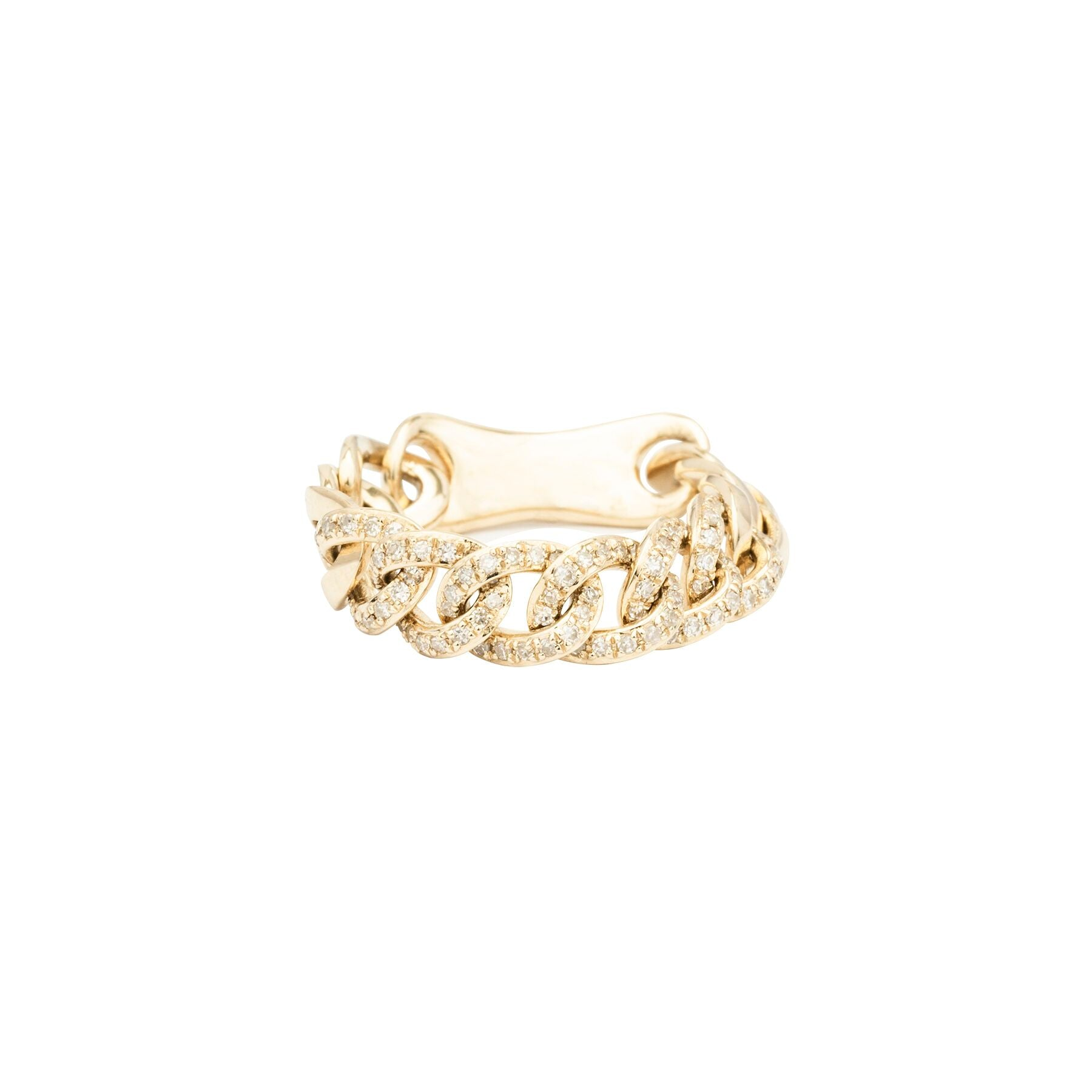 Flex Medium Chain Diamond Ring
