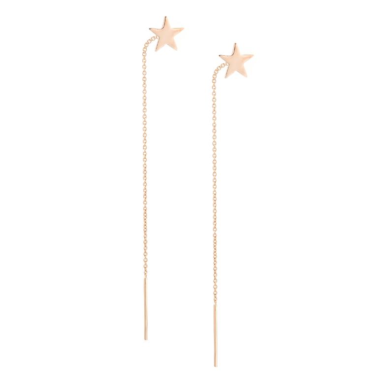 Star Pull Through Earrings
