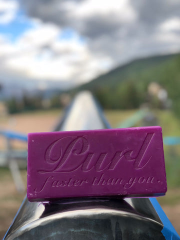 Purl Wax on Vail Mtn Rail