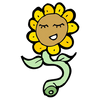 Purl Sunflower