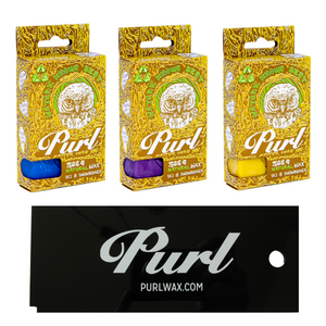 Purl Natural Ski & Snowboard Wax, All Season 3 Pack