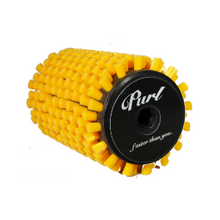 Purl Nylon/Yellow Roto Brush