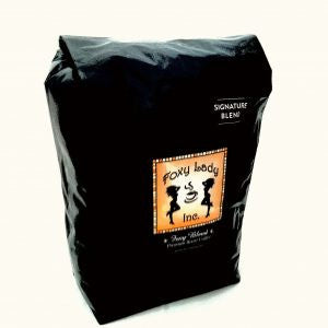 Foxy Lady Signature Coffee - 5 pounds