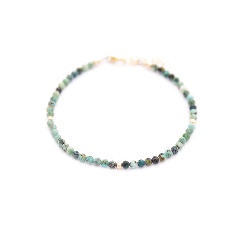 African Turquoise Layering Bracelet