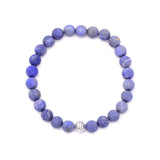 men's circles bead & lapis