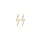 mini lightning bolt studs
