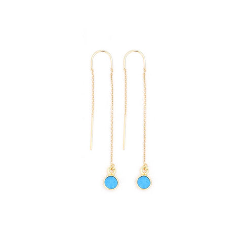 mini turquoise threaders