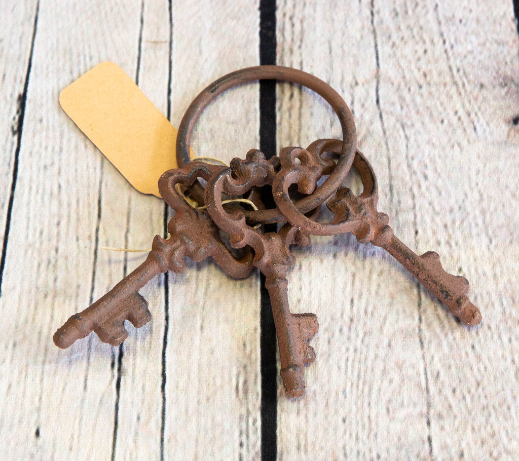 CAST IRON FANCY KEYS