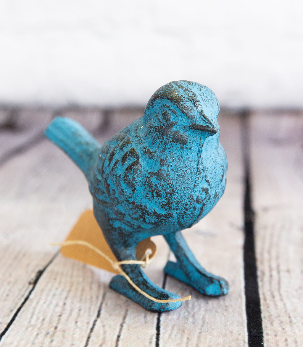 CAST IRON BLUE BIRD