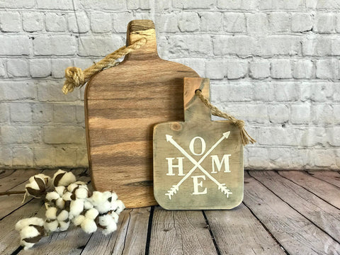 DECORATIVE CUTTING BOARD - HOME