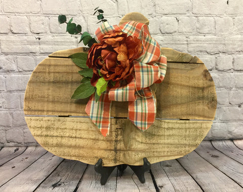 Rustic Fall Pumpkin
