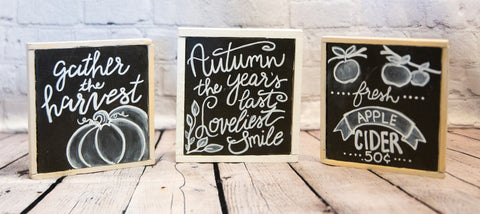 MINI CHALK BOARD SIGNS
