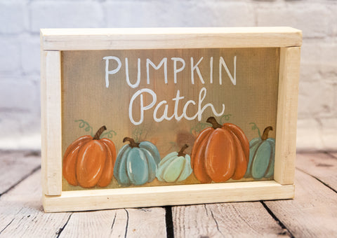 """PUMPKIN PATCH"" ART"