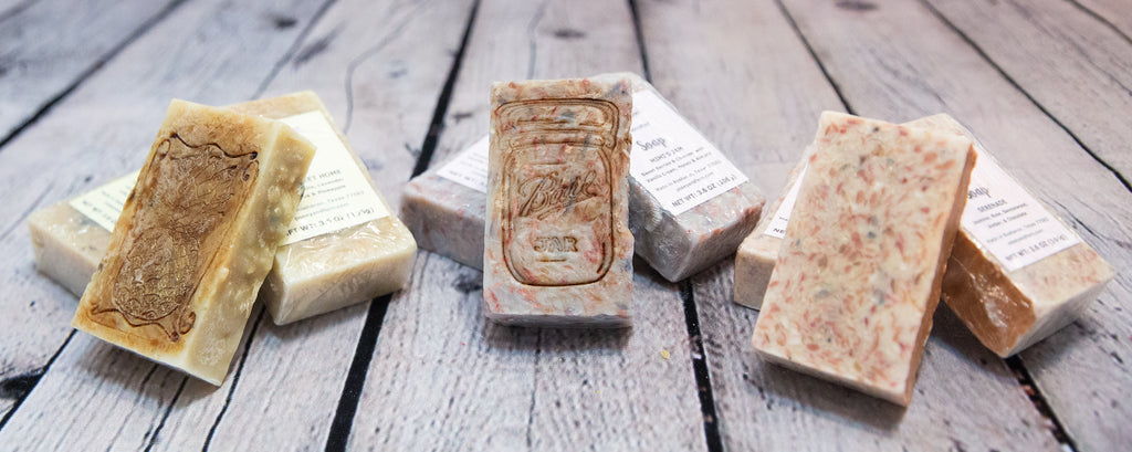 HANDCRAFTED CONFETTI SOAP
