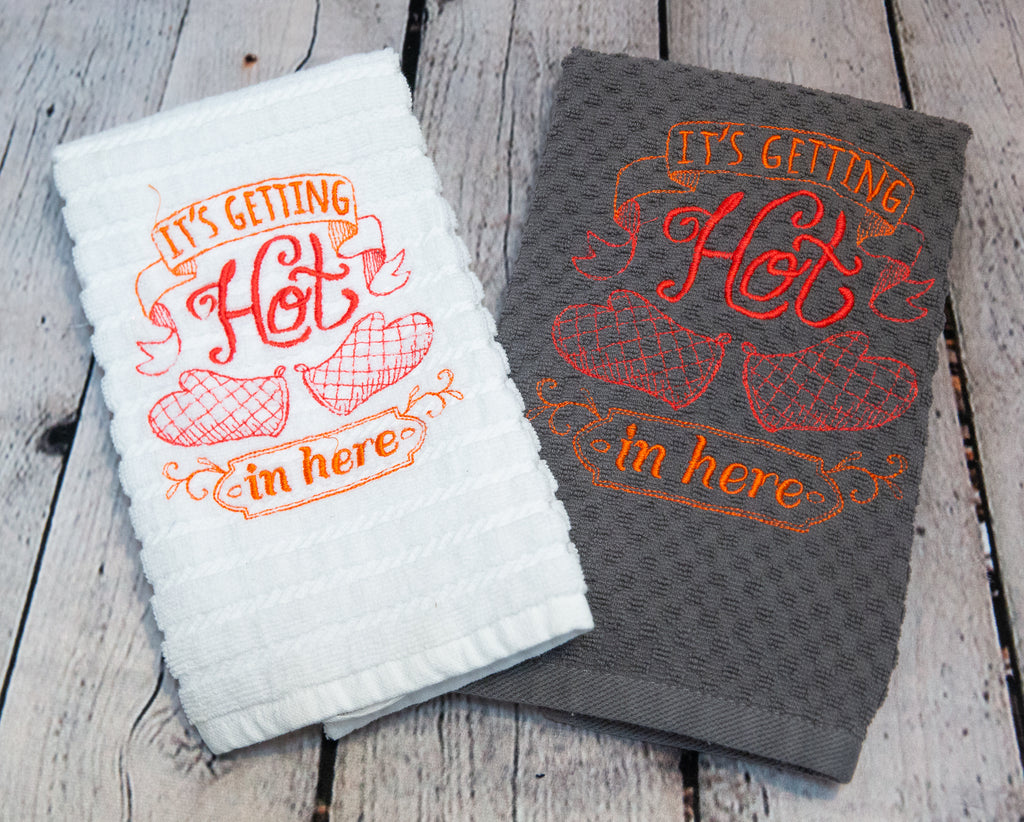HOT IN HERE KITCHEN TOWEL