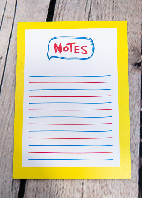 """NOTES"" NOTEPAD"