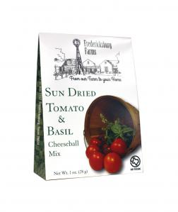 FREDERICKSBURG FARMS - SUN DRIED TOMATO & BASIL CHEESEBALL MIX