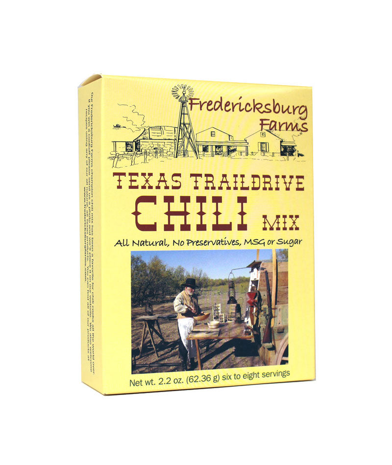 FREDERICKSBURG FARMS - TEXAS TRAIL DRIVE CHILI MIX