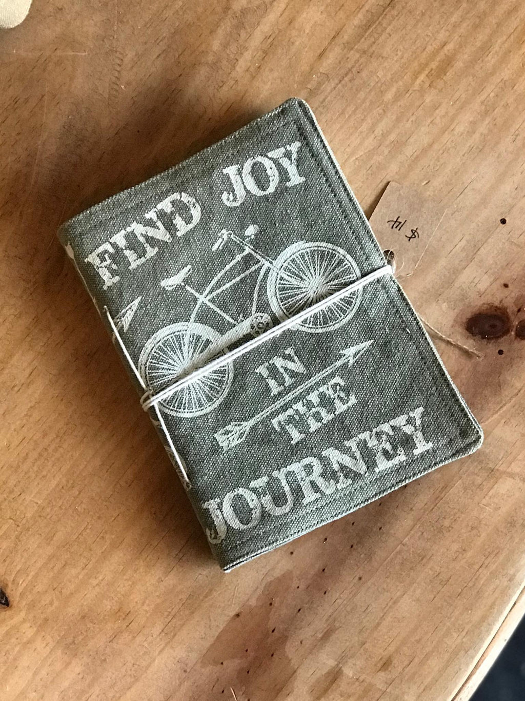 FIND JOY IN THE JOURNEY CANVAS NOTEBOOK