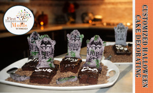 Create Edible Tombstone Place Cards and Desserts