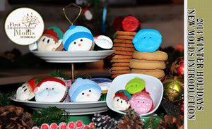 Christmas Cupcake Topper Molds Introduction