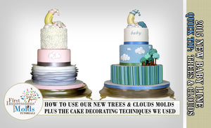 Trees and Clouds Silicone Molds Tutorial