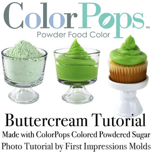Create Custom Colored Buttercream Part 2 of 2 Tutorial
