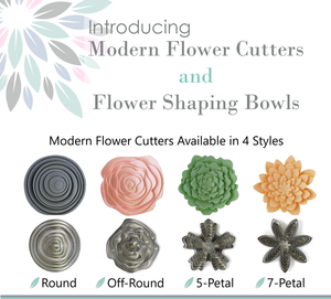 Modern Flower Cutter Sets & Shaping Bowls Tutorial