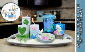 Candle Making & Embellishments Tutorial