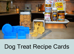 Dog Treat Recipe Cards