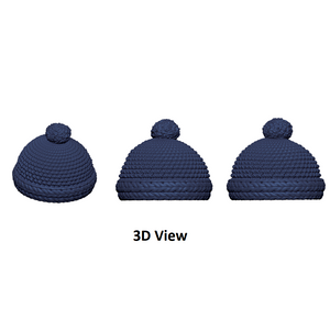 X-Large Knit Baby Hat (Fits B236)