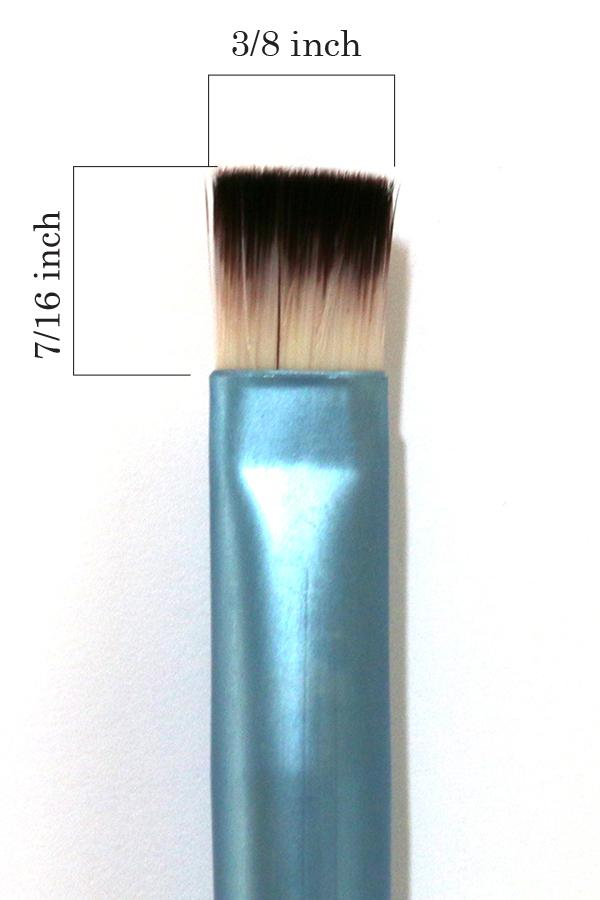 #7 Large Flat Individual Brush