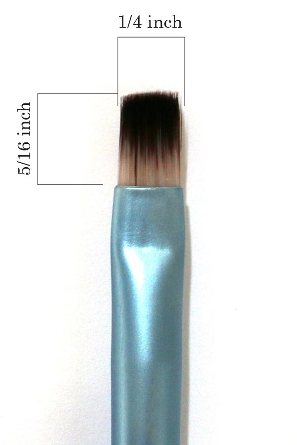 #9 Small Flat Individual Brush