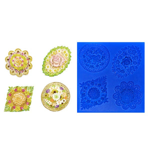 Assorted Flower Medallions 2
