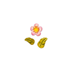 Small Flower & Leaf Set