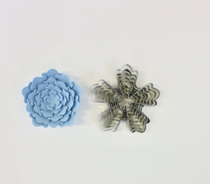 5-Petal Modern Flower Cutter Set of 8
