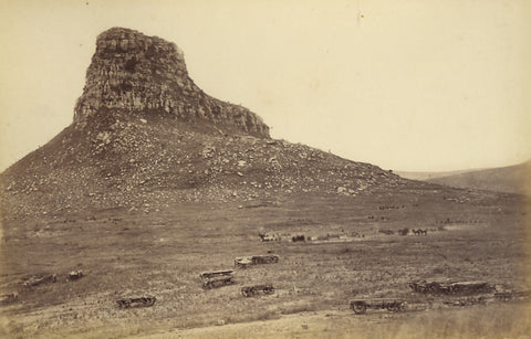 Burial details on the site of the British camp at iSandlwana, June 1879