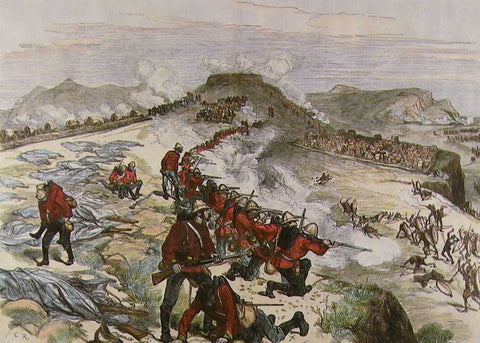 The decisive moment at the battle of Khambula - Major Hackett's sortie