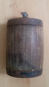 Original & Scarce British Army 1870s Wooden Canteen
