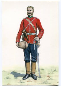 POSTCARD; OFFICER OF THE 24th REGIMENT 1879