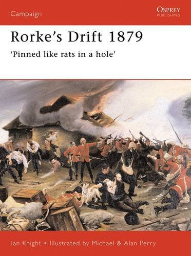 Rorke's Drift 1879 by Ian Knight - Personalised & Autographed (paperback)